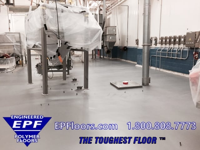 chemical resistant epoxy floor