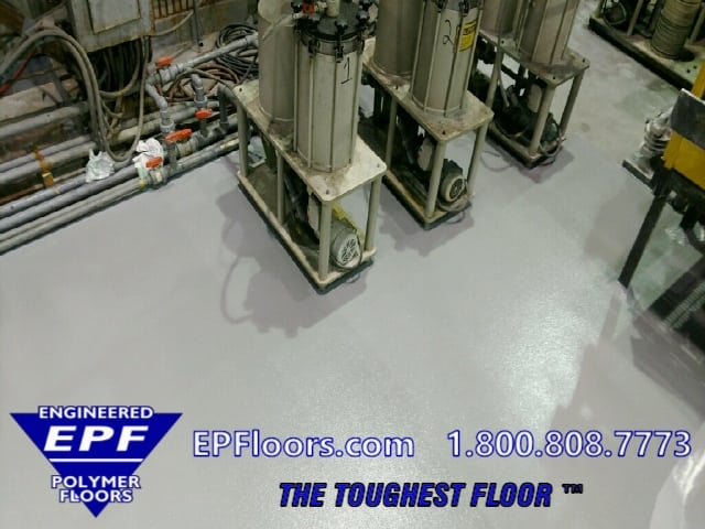 chemical processing floors
