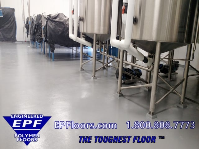 chemical resistant floor