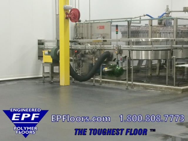 chemical resistant resinous floor