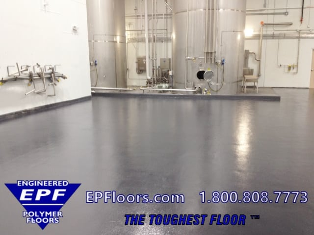 chemical resistance epoxy floor