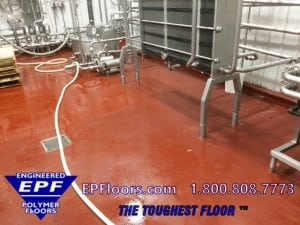 concrete resurfacer mortar seamless floor over brick tile