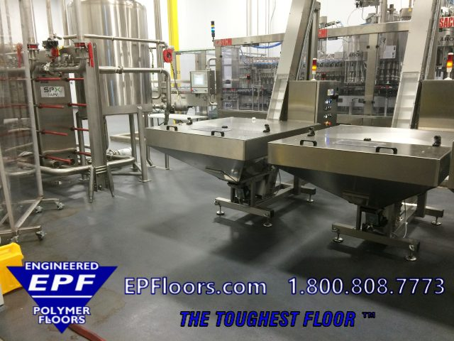 food processing flooring options