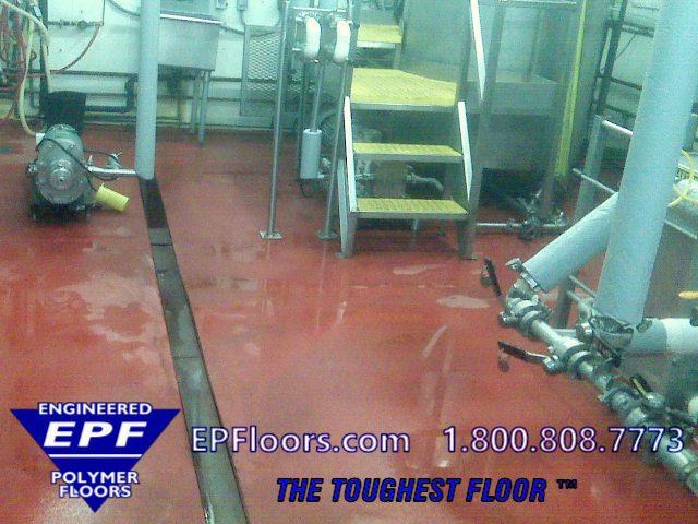 food processing floors options